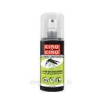 Acheter Cinq sur Cinq Zones Tempérées Lotion anti-moustique 100ml à ROQUETTES