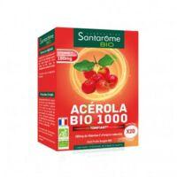 Santarome Bio Acérola 1000 Comprimés à croquer 2T/10 à ROQUETTES