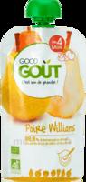 Good Goût Alimentation infantile poire williams Gourde/120g à ROQUETTES