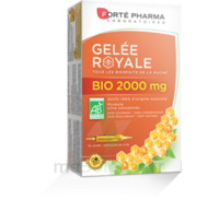 Forte Pharma Gelée royale bio 2000 mg Solution buvable 20 Ampoules/15ml à ROQUETTES