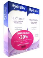Hydralin Quotidien Gel lavant usage intime 2*200ml à ROQUETTES