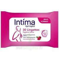 Intima Gyn'Expert Lingettes Cranberry Paquet/30 à ROQUETTES