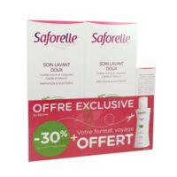 Saforelle Solution soin lavant doux 2*500ml+100ml à ROQUETTES