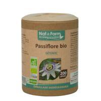 Nat&Form Eco Responsable Passiflore Bio Gélules B/200 à ROQUETTES