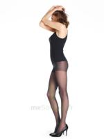 SIGVARIS STYLES TRANSPARENT COLLANT  FEMME CLASSE 2 NOIR SMALL NORMAL à ROQUETTES